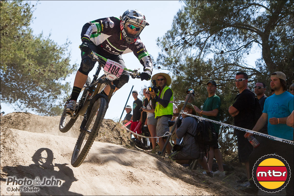 Tracy Moseley - 2nd Place In 2013 Sea Otter Pro Women Downhill