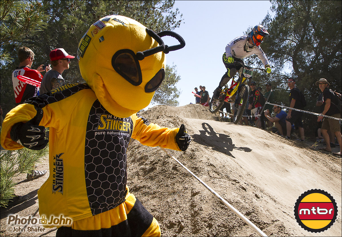 The Honeystinger Bee, Watching The 2013 Sea Otter Pro Downhill