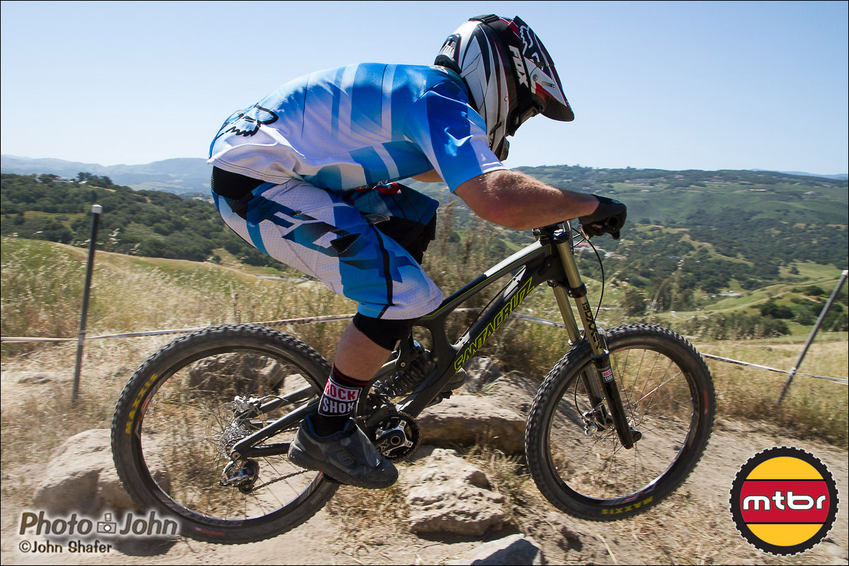 Super Tech Section - 2013 Sea Otter Pro Downhill