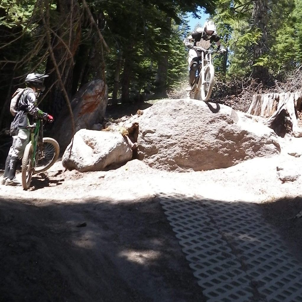 Pacticing For The New Flagstaff Downhill Trail-michael-big-daddy-cropped-mtbr.jpg