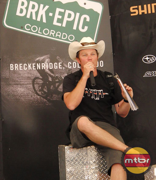 Mike McCormack of Breck Epic