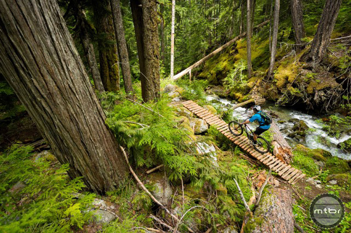 The Valley trails are already in full of loam and should be in perfect shape come Outerbike time. Photo courtesy Whistler/Mike Crane