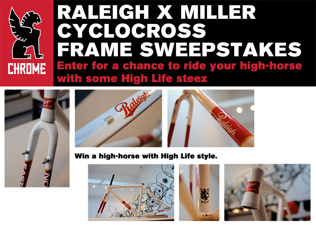 Miller Raleigh Cross Frame