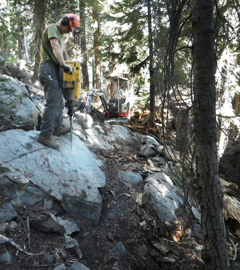 The Mills Peak Trail is complete! Check it out!-mills-before.jpg