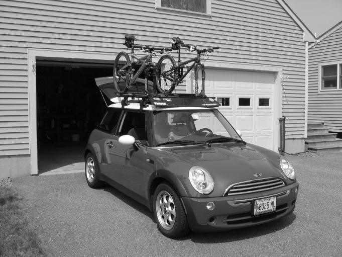 Mini Cooper Bike Rack Fuzzbeed Hd Gallery