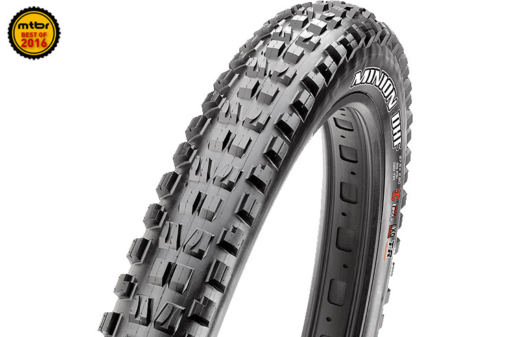 Maxxis' plus-sized Minion tire has helped lessen the penalties of going wider, while maintaining the benefits.