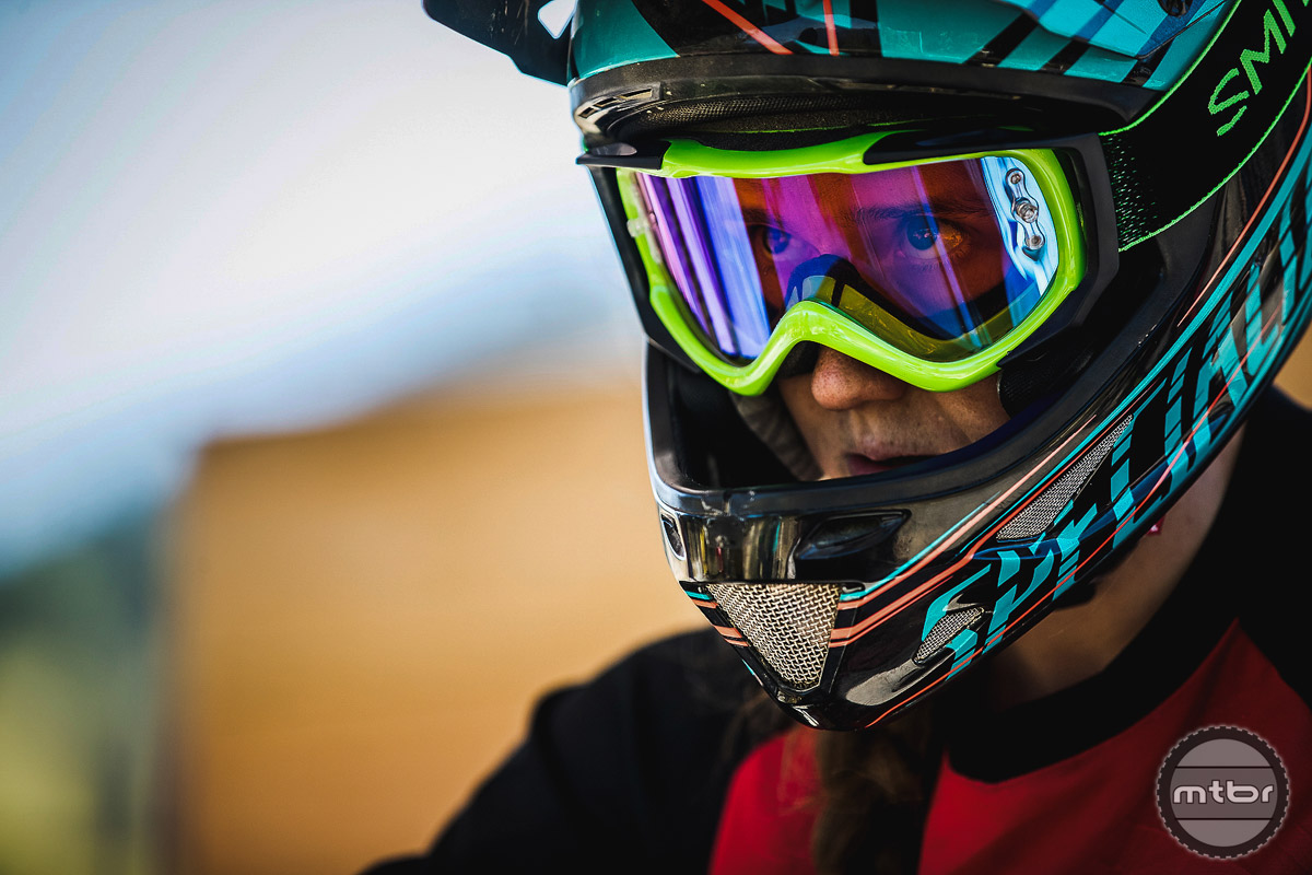 Miranda Miller is Canada's fastest female racer. She's taken a short break from racing after a series of tough crashes but is back with renewed vigor. Photo by Adrian Marcoux and Sven Martin