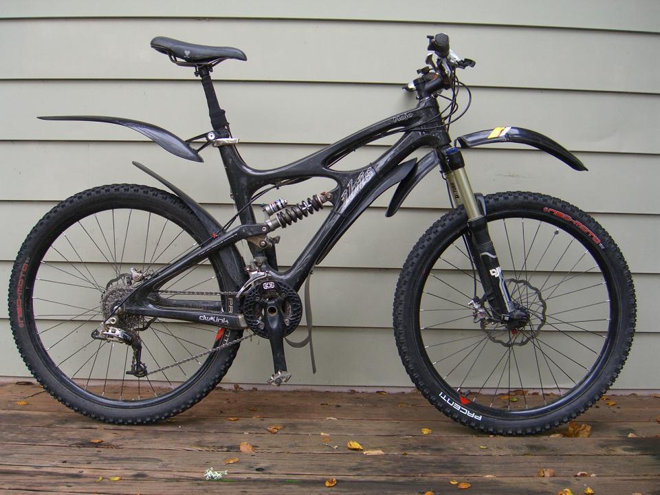 taianle Bicycle Mudguard Set Mountain Bike Fenders Rear Mudgaurds Set for Road