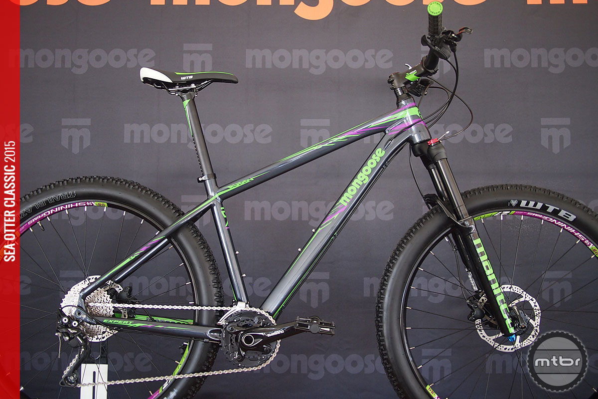 Mongoose continues their tradition of making big wheeled mountain bikes at affordable prices.