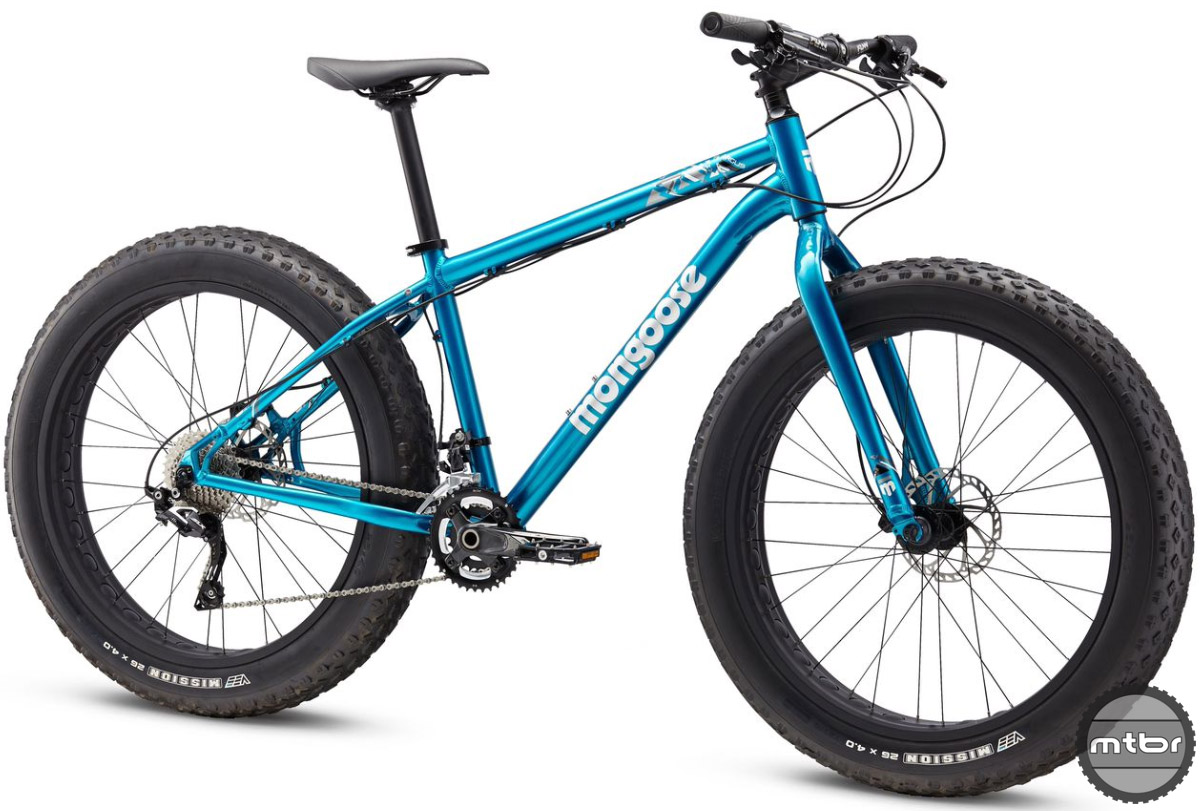 Mongoose Argus fat bike