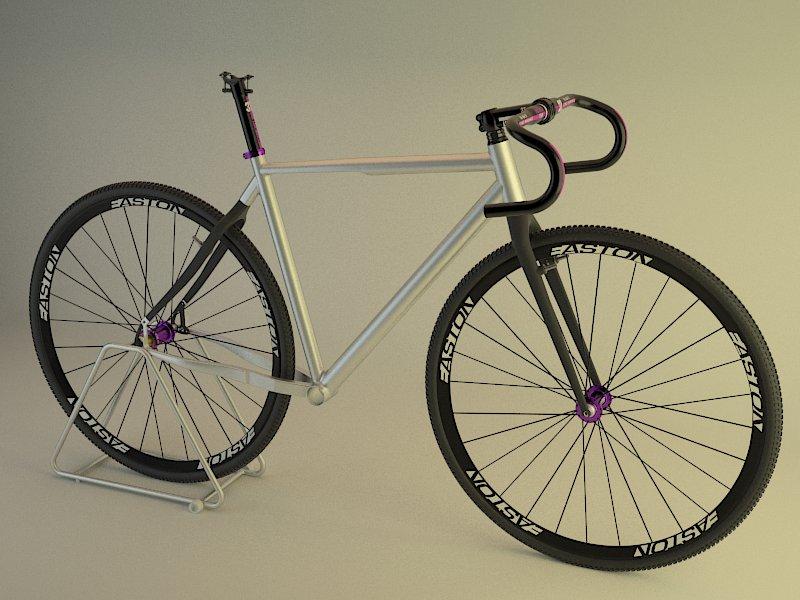 3D bicycle and frame design-montaje2.jpg