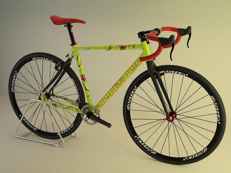 3D bicycle and frame design-montaje4.jpg