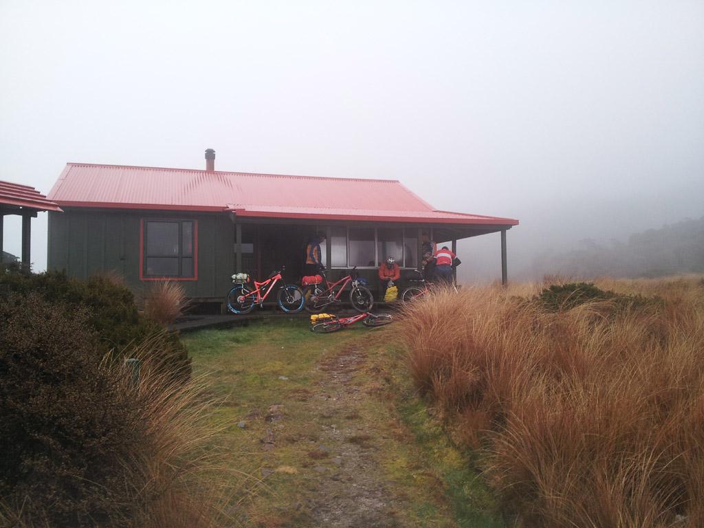 Not so Solo ride - long story-morning-saxon-hut.jpg