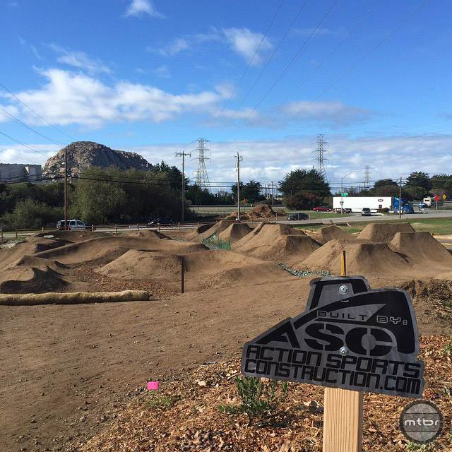 100% of materials used in this park were donated by local businesses.