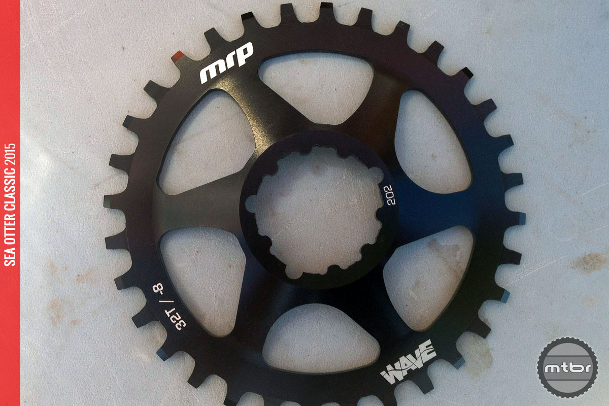 The new chainring will be offered in direct mount, 104bcd, and 110bcd versions.