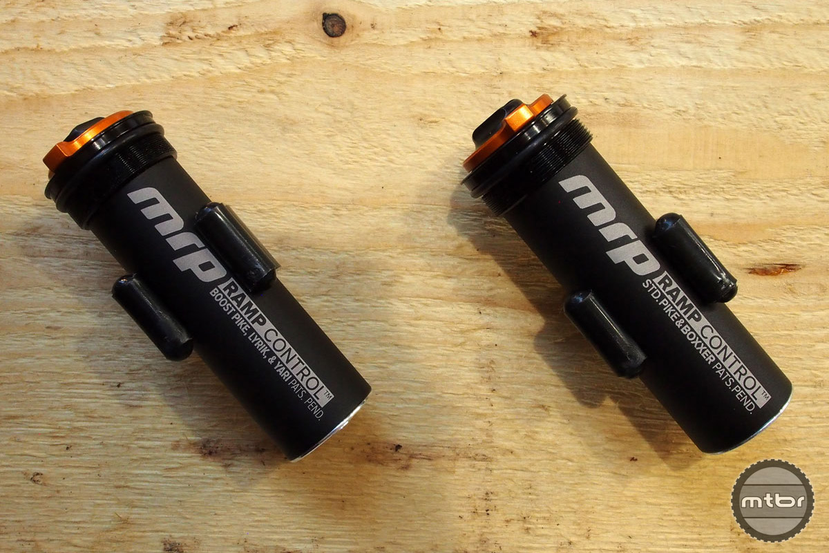 These handy cartridges replace the need for tokens and will work with solo-air models of RockShox's Pike, Lyric, Yari, and Boxxer World Cup forks.