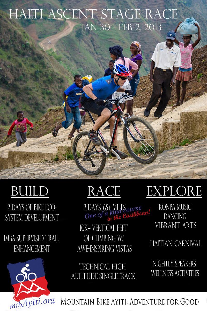 MTB Ayiti - Stage Race flyer