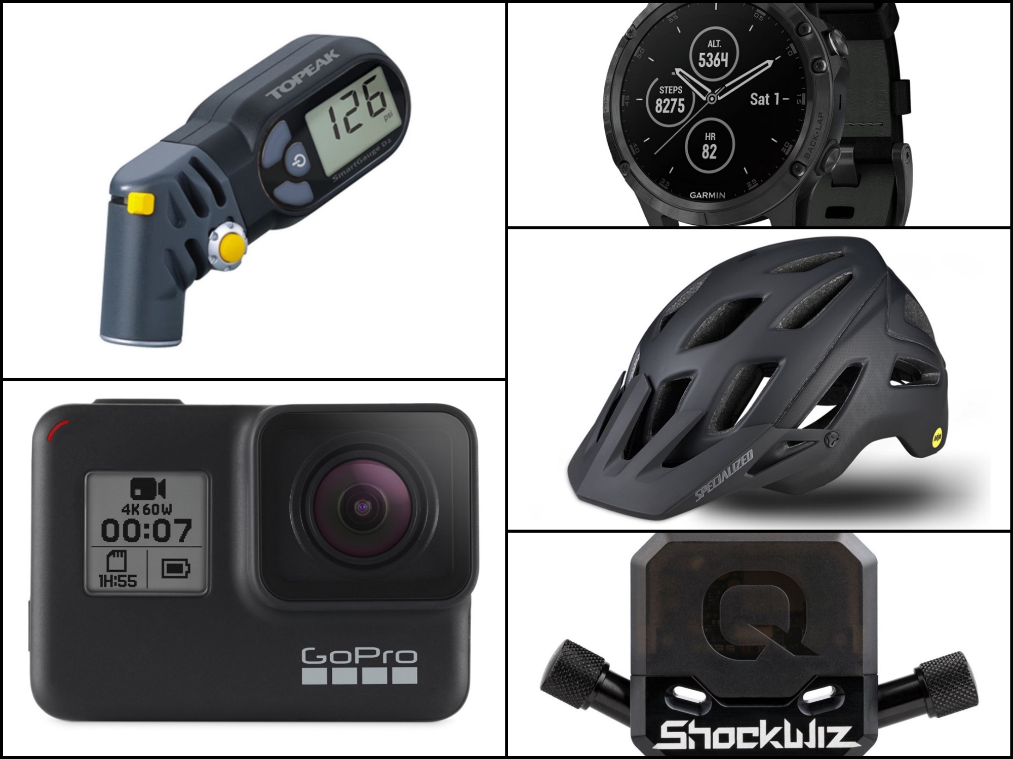 Gifts for gadget loving mountain bikers