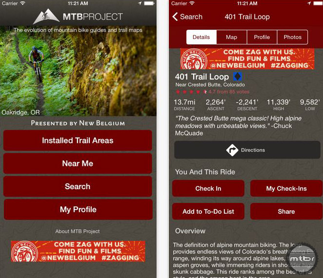 MTBProject routes include often include detailed data, maps, and GPX downloads.
