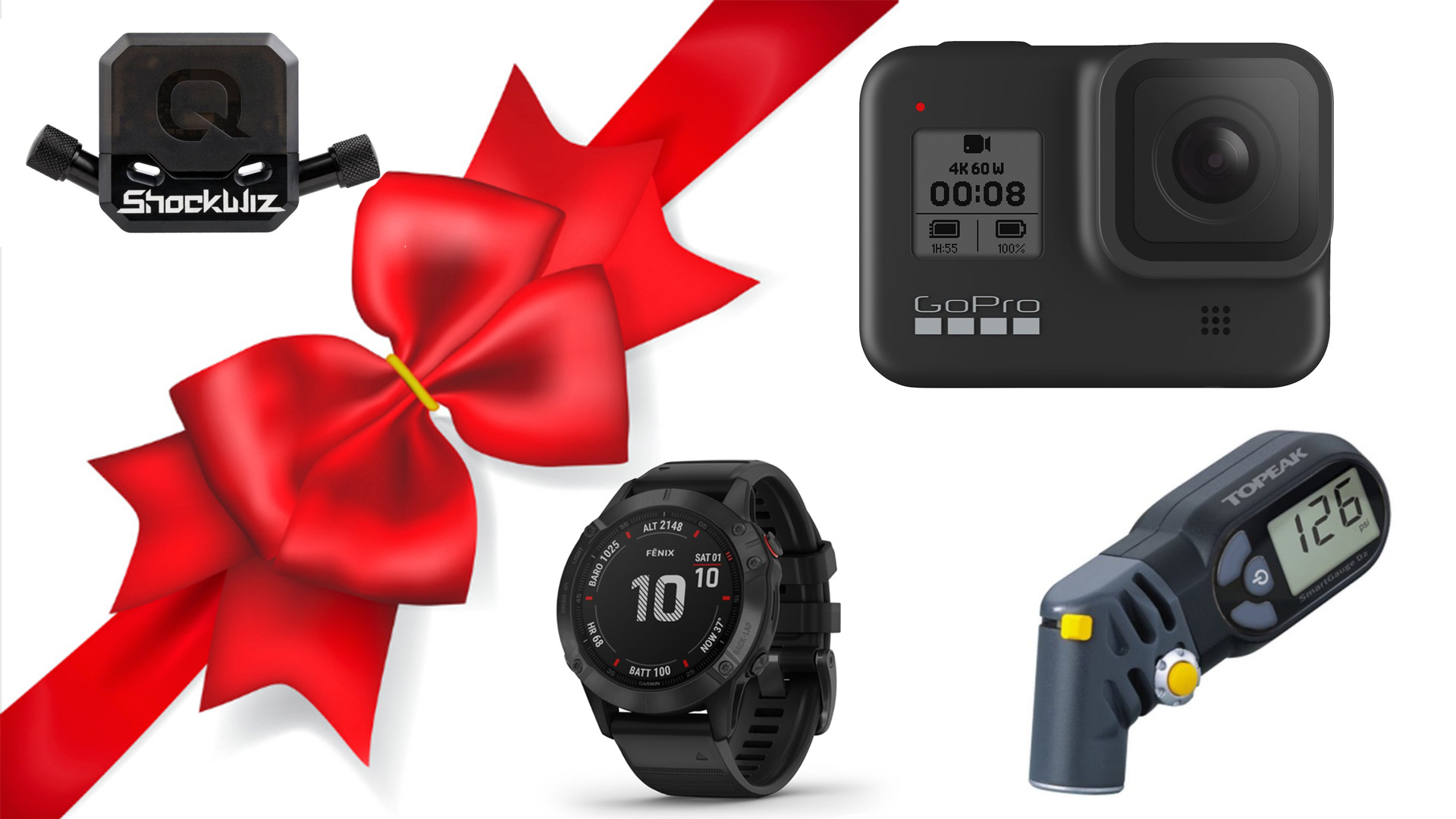 These great gifts for gadget loving mountain bikers are sure to please this holiday season.