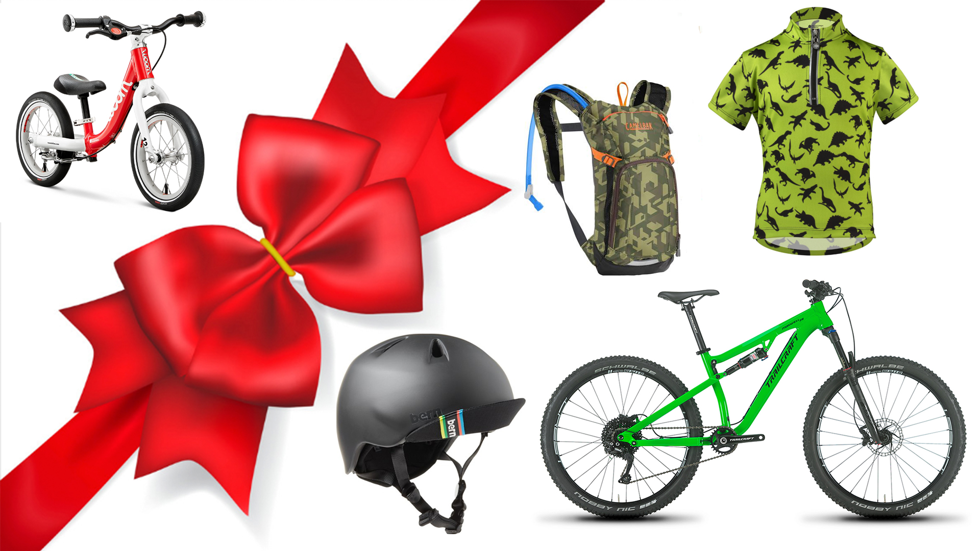 Looking for mountain bike gifts for kids? You've come to the right place.