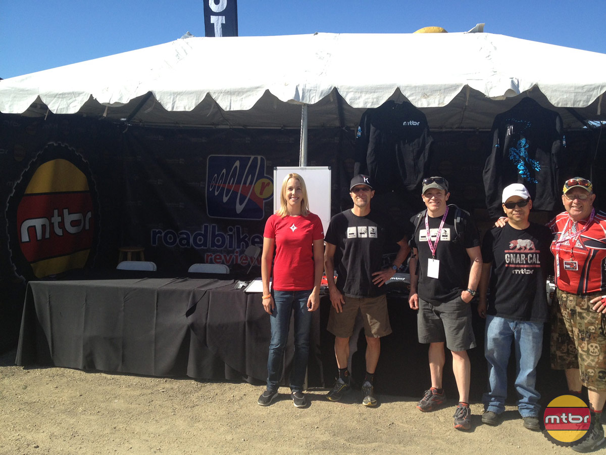 Mtbr / RoadBikeReview Booth