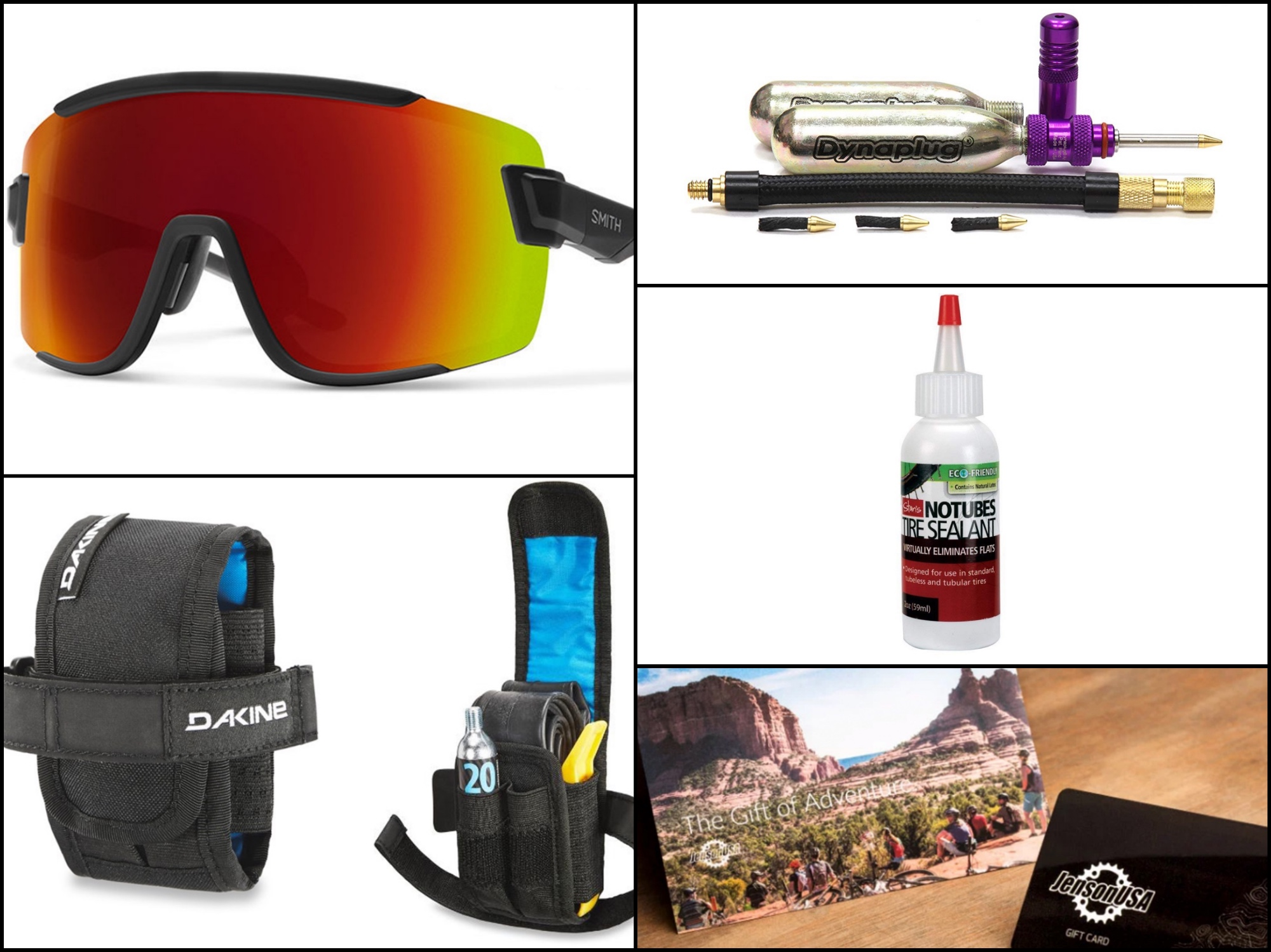 Stocking stuffers for mountain bikers