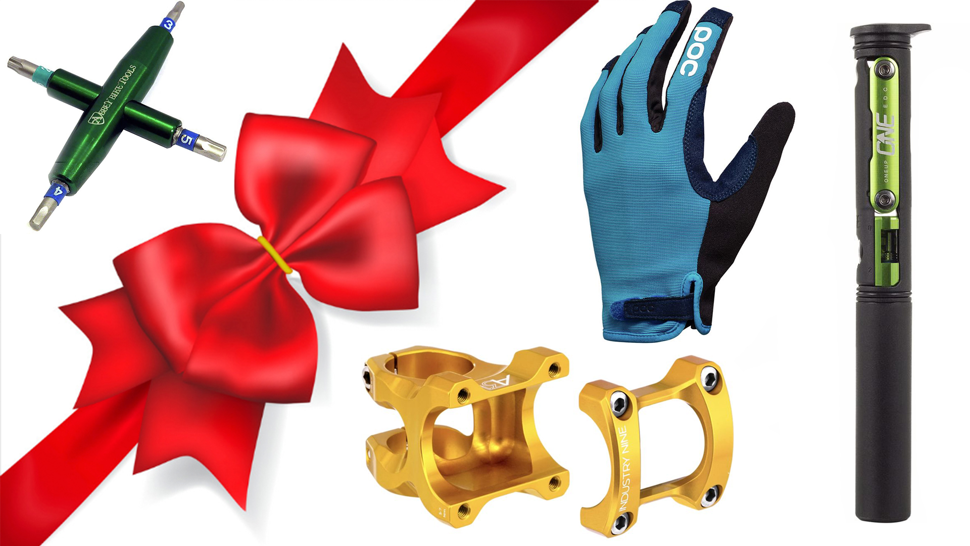 Check out these stocking stuffers for mountain bikers that are sure to please.