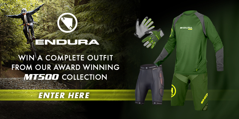 Win An Endura MT500 Mountain Bike Kit