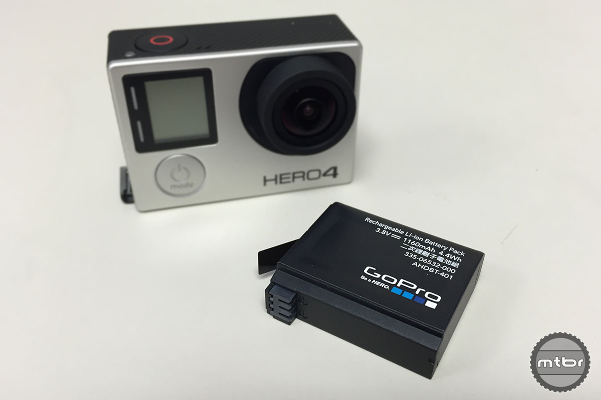 While most HERO3 accessories are compatible with the 4, the batteries are not.