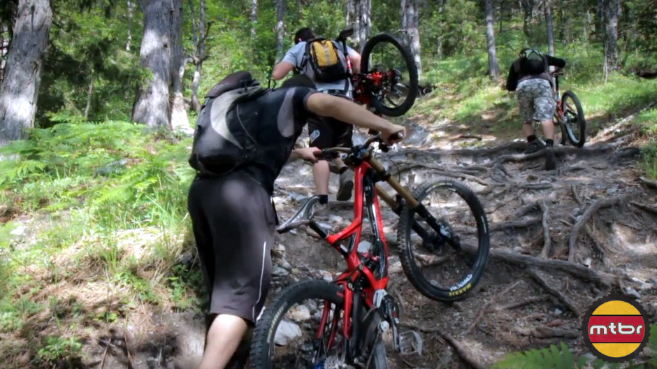 Mountain Biking on Mt. Olympus