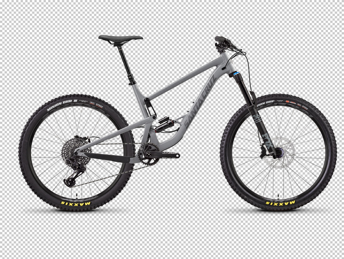 In gray with 150mm rear, 160mm front