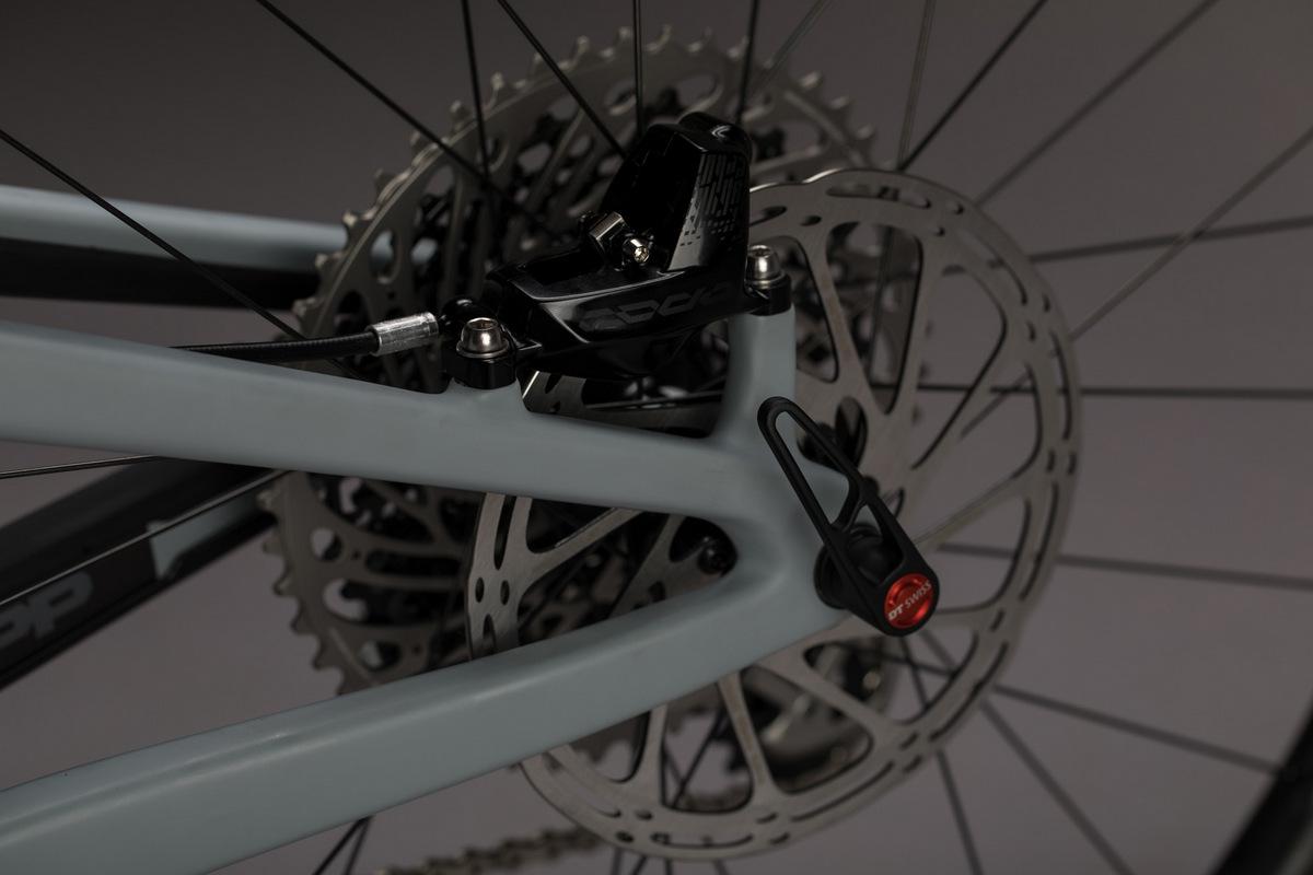 Big rotors on Boost 148 wheels