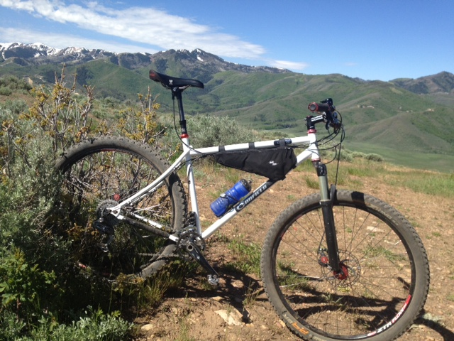 frame bag for everyday riding n9 dropperjpg - Mountain Bike Frame Bag