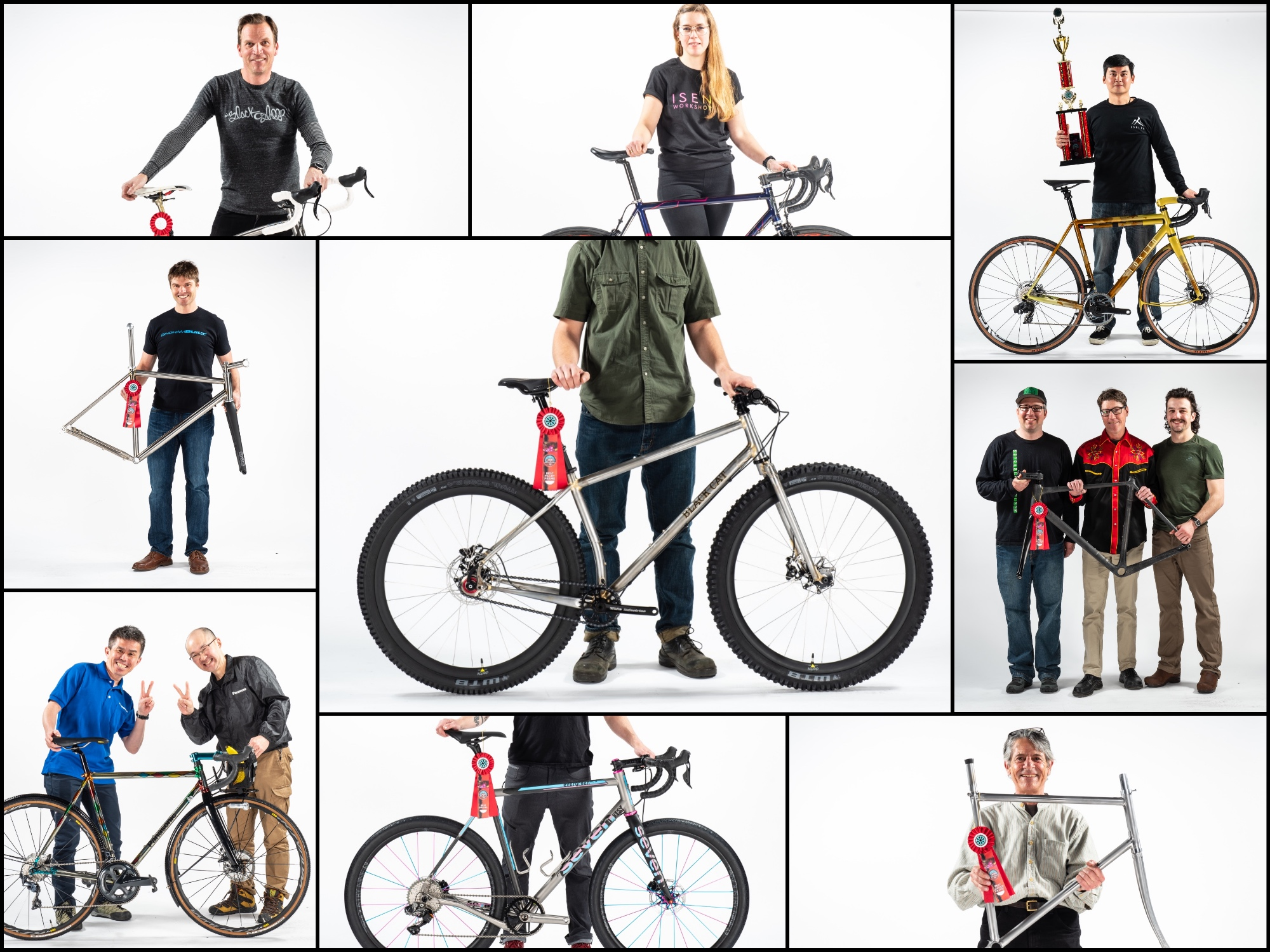 North American Handmade Bicycle Show Award Winners
