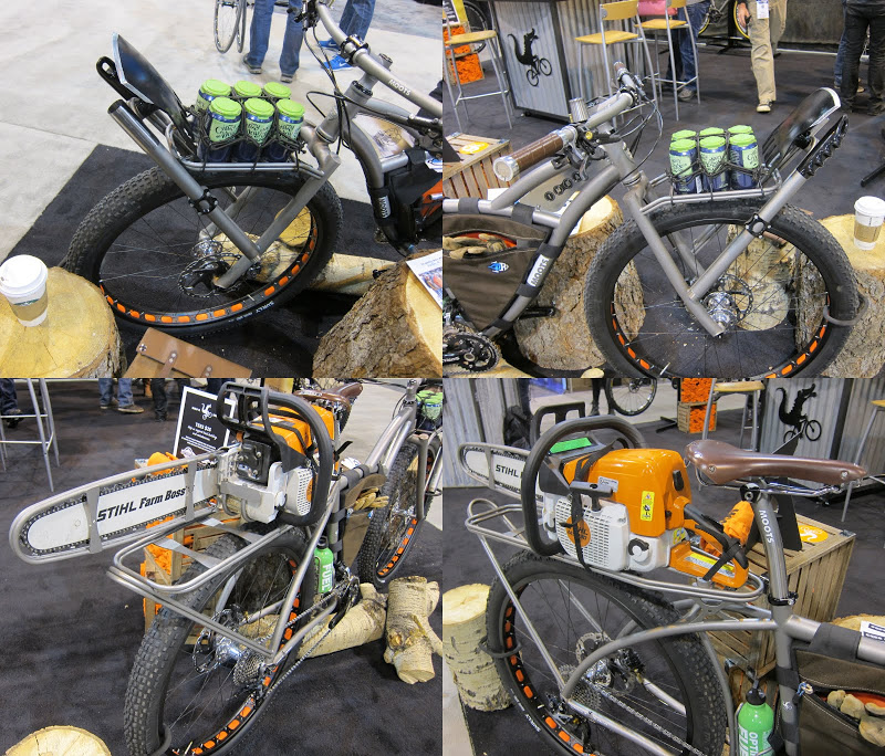 Moots/Imba Trail Maintenance Bike - Closeups