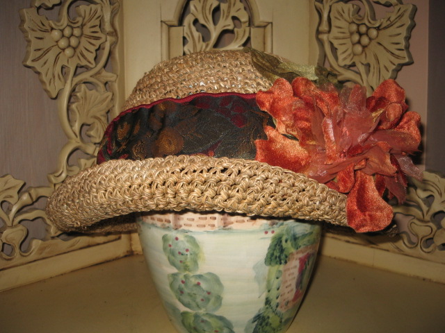 stylish bike helmets for cruisin'?-nantucket-wide-ribbon-rust-flower.jpg