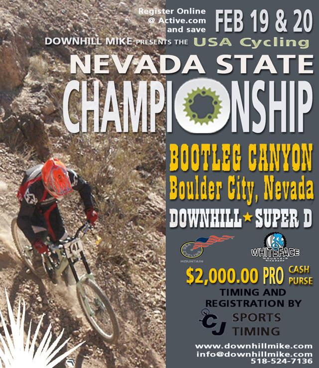 Nevada State Championship web site