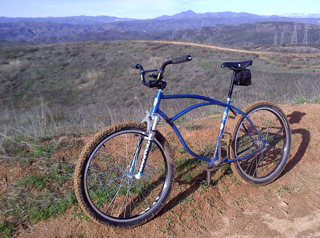 Mtb Tires On A Beach Cruiser New Improved Klunker Copy S