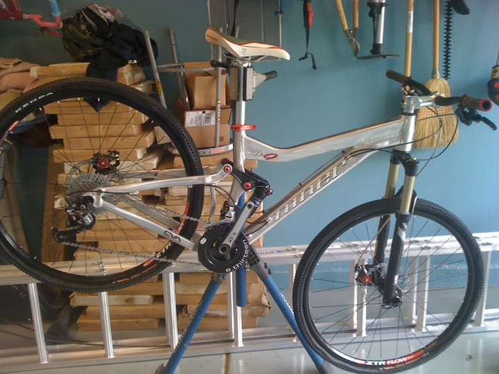 I answered two common Questions about 10 spd and XTR-new-bike.jpg