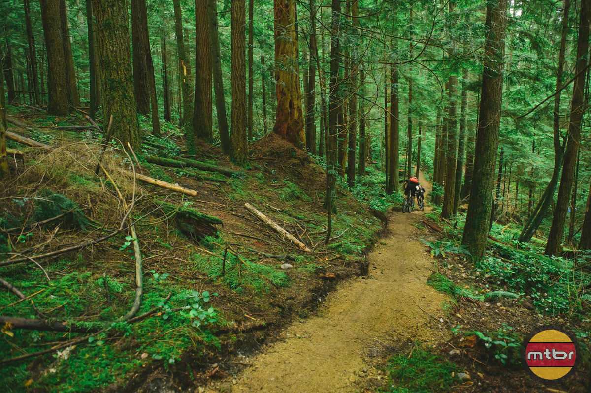 New Flow Trail in BC