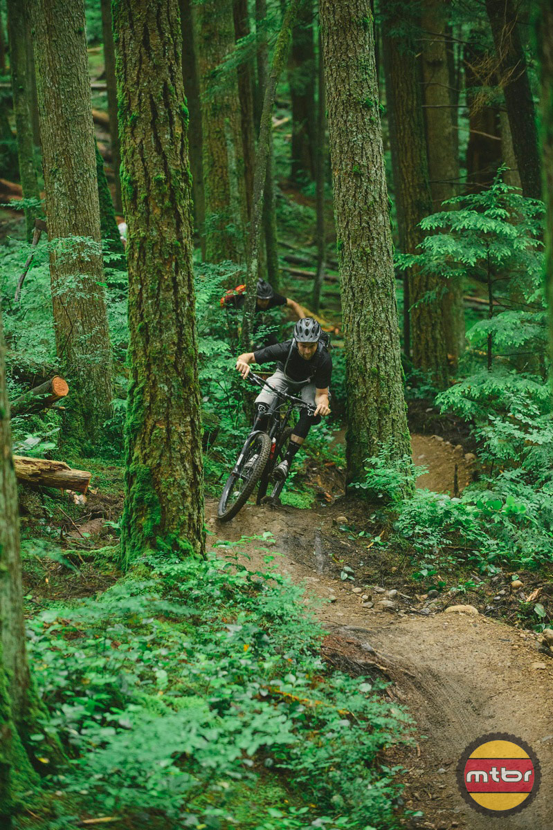 New Flow Trail in North Vancouver