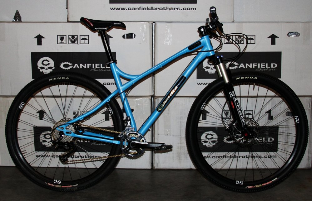 The NEW Canfield Brothers Nimble 9- Mtbr.com