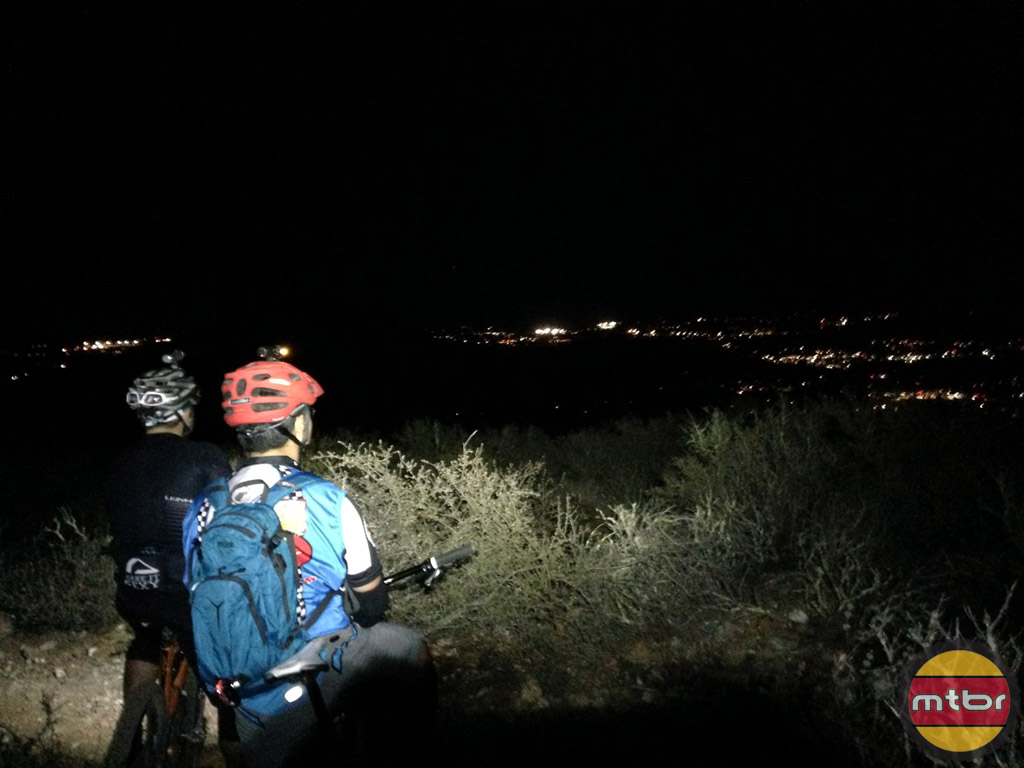 Night ride with Patrick