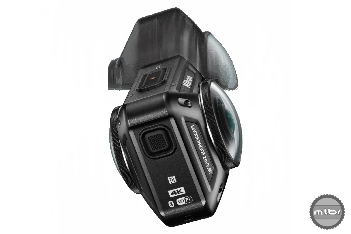The KeyMission is claimed to be shockproof up to 6.6 ft or 2m.
