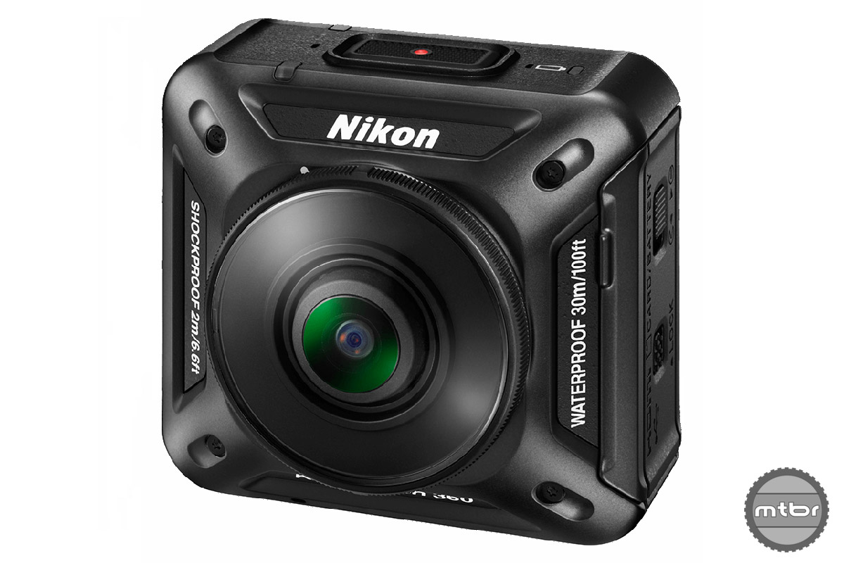 The KeyMission360 is the first in a new family of action cameras that Nikon plans to release laster this spring.
