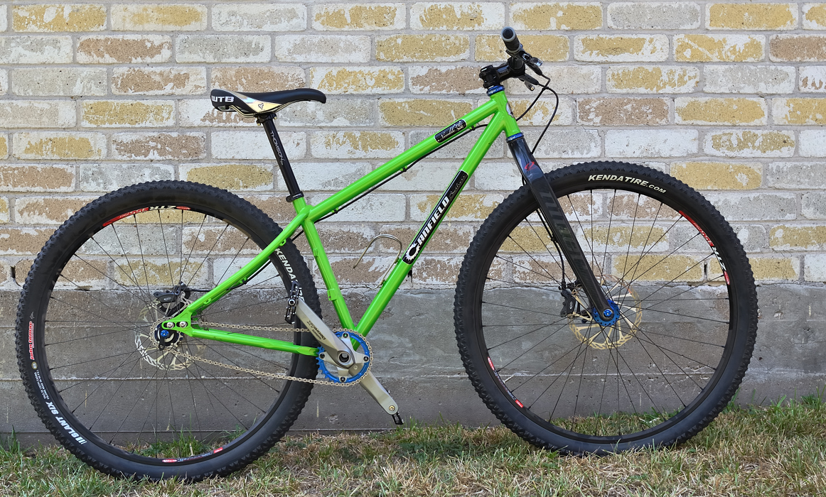 Canfield Nimble 9 29er Rigid Singlespeed