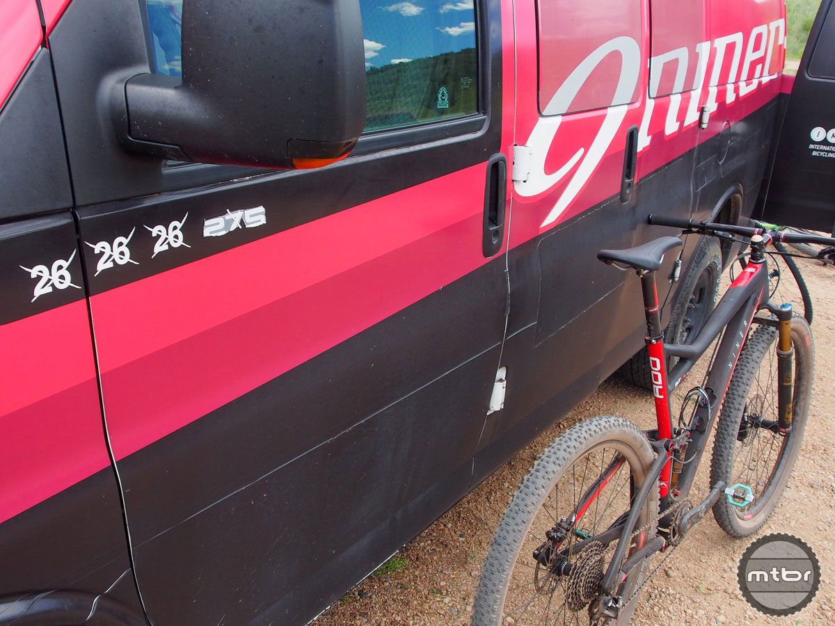 Niner is sticking to its guns — 29ers only.