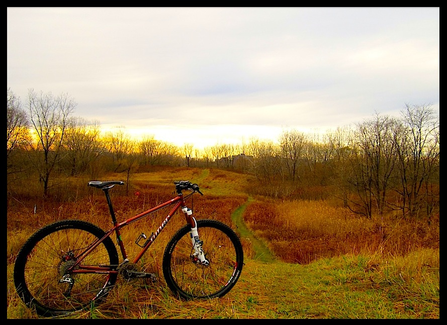 One picture, one line.  No whining. Something about YOUR last ride. [o]-niner_dec_12.jpg