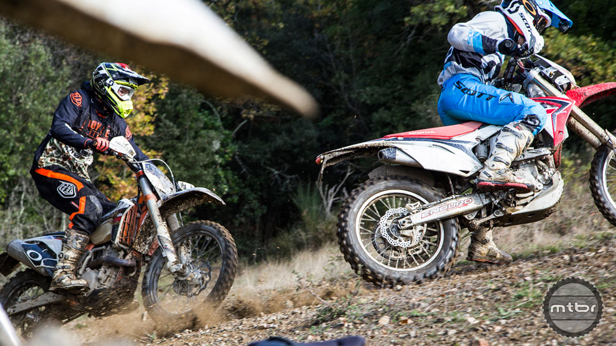 Riding dirt bikes has always been an incredible way to cross train. Photo by Jochen Haar